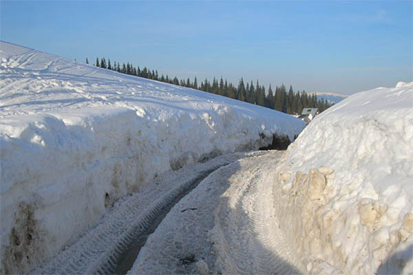 Как проехать на Драгобрат. Зима