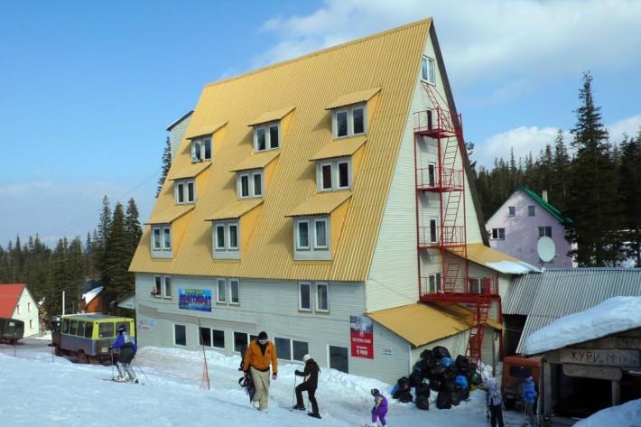 Гостиница Драгобрат: описание, услуги, озывы