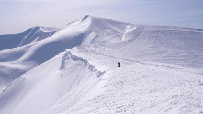 Вид на горы с Жандарма
